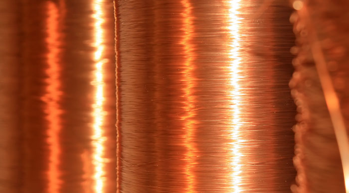 Copper wire Marble Amps